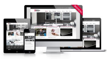 Nouveau site internet du Groupe Brandt